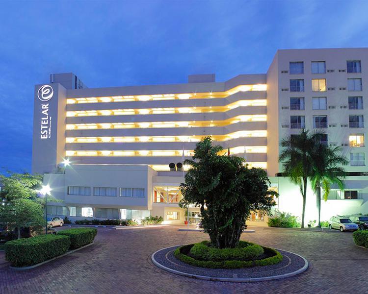 FACHADA Hotel ESTELAR Altamira Ibagué